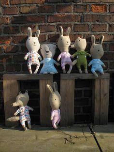 Můj dům, můj squat: Giveaway: Látkové hračky Devoto od A. Tachezy