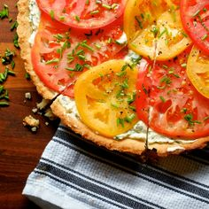 Fresh Tomato Tart | Sweet Salty Tart