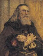 """John Wycliffe - """"Morning Star of the Reformation""""  The light began to in the 1300's when John Wycliffe began to speak out against abuses within the Church. An influential teacher at Oxford, Wycliffe was explelled from his teaching position because of his outspoken stance. But Wycliffe was undaunted and believed that every person had the right to read God's Word in their own language. He set out to translate the Bible into English- the language of the common man in northwestern Europe."""