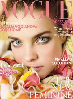 British Vogue May 2008 Cover (British Vogue)