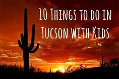 10 Things to do in Tucson with Kids - Scary Mommy