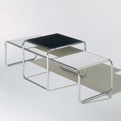 Laccio Side Table / Marcel Breuer for KNOLL