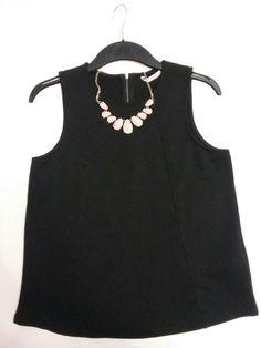 Elegantni cerny top Camaieu Tank Tops, Women, Fashion, Moda, Halter Tops, Fashion Styles, Fashion Illustrations, Woman