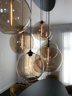 Living Room Ideas 2019, Home Living Room, Modern Lighting, Lighting Design, Bar Lighting, Ceiling Light Design, Ceiling Lights, Kitchen Bar Lights, Internal Design