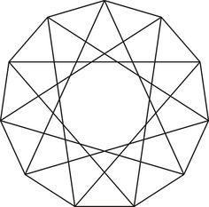 Hendecagram Twist Star 1