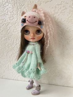 Excited to share the latest addition to my #etsy shop: OOAK Custom NBL Factory Fake Blythe doll Blythe Dolls For Sale, Philtrum, Art Dolls, Harajuku, Carving, Etsy Shop, Disney Princess, Disney Characters, Unique