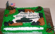 cake idea military cake