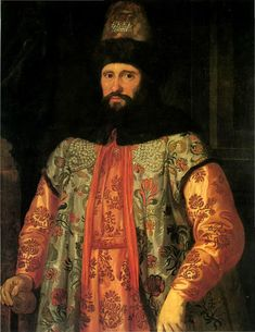 J. Sustermans - Portrait of Ivan Chemodanov, Russian ambassador in Venice, 1650th  Portraits of Russians of that period are quite rare. And look at his costume - just striking)