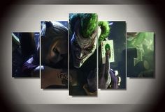 Joker and Harley Quinn http://walldecordeals.com/product/framed-printed-joker-and-harley-quinn-picture-painting-wall-art-room-decor-print-poster-picture-canvas-free-shippingny-824/