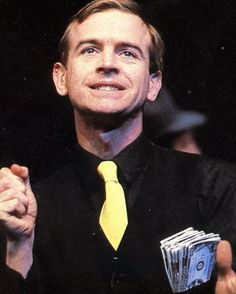 Ian Charleson (1949-1990) as Sky Masterson in The National Theatre 1982 production of Guys and Dolls