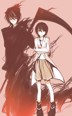 shinigami (human koro sensei) x yukimura aguri - Assassination Classroom