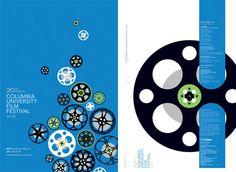 Columbia University Film Festival posters