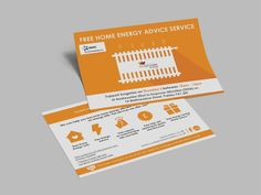 ENERGY ADVICE – Energy Advice Service Print out double sided stationery leaflet designs for Cook Grow Sew's Energy Advice Service. #graphicdesign #branding #marketing #leaflets #cards #printouts #e-cards #energyadvice #service