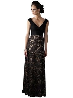 a5f3cf9ad74 Lace Deep V-neck Sleeve Elegant Evening Dress For Women Plus Size www.