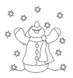 Little Scraps of Heaven Designs: Free Snowman Digi Stamp