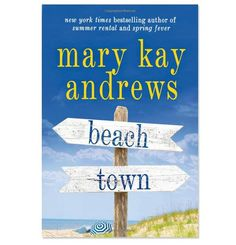 Beach Town by Mary Kay Andrews . . . just finished!! Wasn't my favorite of her books, it was okay!!