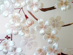Close up image of previous screen  -  Flowers Among Trunk JEC