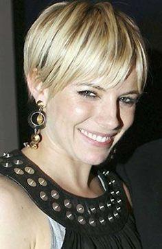 Sienna Miller Pixie Hairstyles