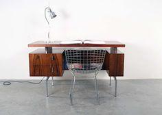 New arrivals !!! studio1900.nl vintage - design - furniture : Propos desk design rosewood bureau