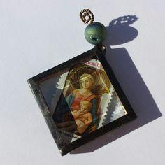 Fra Filippo Lippi's Madonna and Child postage by SacredArtwork