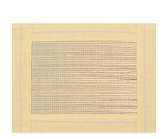 Lugar Americano Nina Stripes Amarelo - 38X48cm