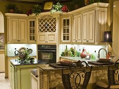 Like the detail in this kitchen.