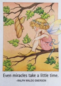 Even Miracles Take A Little Time-Mary Engelbreit Magnet