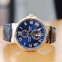 """@ulyssenardinTR Maxi Marine Chronometer ""Savarona"" ⛵️⛵️⛵️"" Photo taken by @watchmania on Instagram"