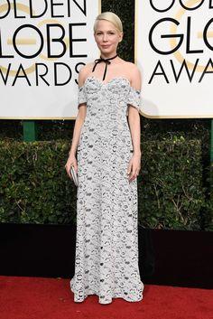2017 Oscars Dress Predictions | POPSUGAR Fashion Photo 10...Michelle Williams at the 2017 Golden Globe Awards
