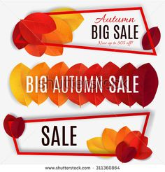 autumn sale ads - Google Search