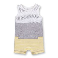 Baby Boy One-pieces : Target Boys Summer Outfits, Baby Boy Outfits, Baby Boy Overalls, Little Man Style, Newborn Boy Clothes, Summer Romper, Country Outfits, Fashion Pants, Organic Cotton