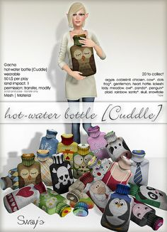 Sway's Hot-water bottle [Cuddle] - for The Arcade December 2013 | Flickr - Photo Sharing!