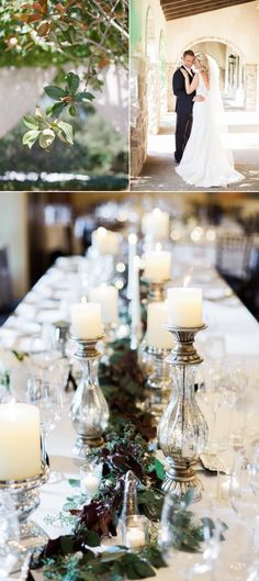Candlelit Sonoma Golf Club Wedding - Style Me Pretty Weddings at Fairmont Sonoma Mission Inn http://www.fairmont.com/sonoma/meetings-weddings/weddings/