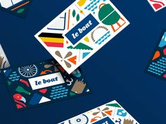 Noted: New Identity for Le Boat by SomeOne