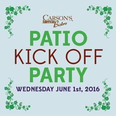 Come kick off the summer with us on our patio! Kicks, Patio, American, Summer, Summer Time, Terrace, Summer Recipes