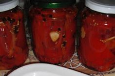 Romanian Food, Conservation, Pickles, Jar, Pizza, Italy, Places, Canning, Salads