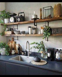 Moderne Küche rustikal #küche#kochen#küchen ideen