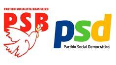 PSB e PSD. Imagem: montagem/internet/reprodução.     Assim restou firmado no TAC: o PSD integrará ...