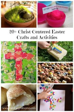 Christ-Cented Easter Crafts and Activties