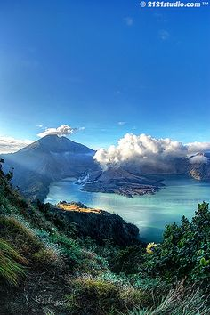 Tone mapped HDR from 3 exposures. Shot during recent Rinjani Extraordinary Photo Adventure Trip. Location : Mount Rinjani, Lombok, Indonesia Feel free to visit Places Around The World, Oh The Places You'll Go, Places To Travel, Places To Visit, Around The Worlds, Bali Lombok, Borneo, Beautiful World, Beautiful Places