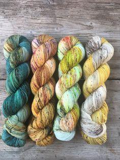 Hand dyed yarn. #yarn #yarnporn #handdyed #handdyedyarn #indiedyedyarn Crochet Yarn, Knitting Yarn, Knitting Patterns, Yarn Stash, Yarn Thread, Yarn Inspiration, Spinning Yarn, Yarn Bombing, Knitting Accessories