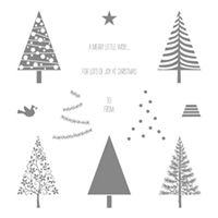 Festival of Trees Photopolymer Stamp Set by Stampin' Up!