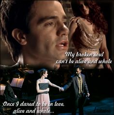 I love those guys. #rierra  #sierraboggess #raminkarimloo #loveneverdies #phantomoftheopera #secretgarden #secretgarden25thanniversary #25anniversary #couplemusical #musical #theatre #love