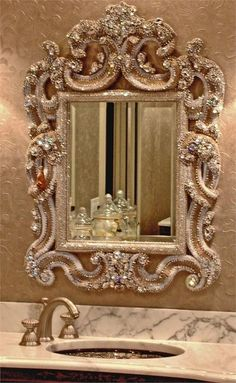 """""""Mirror Mirror On The Wall"""" I love a great ornate mirror"""
