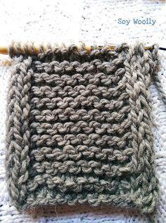 Como tejer bordes en cordon I Cord Soy Woolly