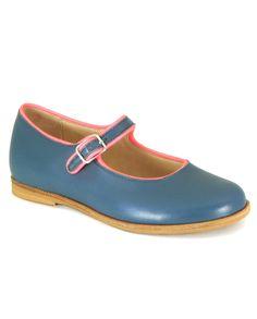 Manuela de Juan Paola Dolly Shoe in Jeans