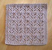 Ravelry: Garden rows dishcloth / Lavette Rangs de jardin pattern by Tricots et créations Isabelle