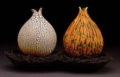 bulb vases by Andy Rogers