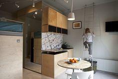 Zdjęcie numer 8 w galerii - Kawalerka w centrum Warszawy, czyli bardzo mieszkanie pełne świetnych rozwiązań