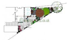 Triangular Garden Plan Cultivate Pinterest Garden